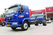 东风柳汽 乘龙M3中卡 160马力 4X2 7.7米排半厢式载货车底盘(LZ5160XXYM3AB)
