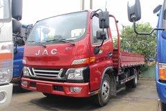 江淮 骏铃V5 120马力 4.2米单排栏板轻卡(5档)(HFC1045P92K1C2V) 卡车图片