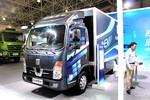 吉利远程 E200 豪华版 4.2米单排厢式载货车(侧开门)(纯电动)(DNC5070XXYBEV01)