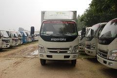 福田 奥铃捷运 103马力 4.2米单排厢式轻卡(窄体) 卡车图片