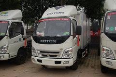 福田 奥铃超越 95马力 3.7米单排厢式轻卡(防爆车)(汽油) 卡车图片