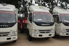 福田 奥铃捷运 103马力 4.2米单排厢式轻卡(底盘) 卡车图片