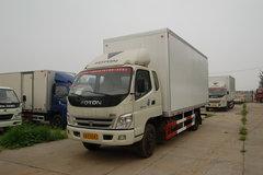 福田 奥铃捷运中卡 140马力 6.75米排半厢式载货车(BJ5121VHCFK-S) 卡车图片