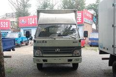 北京旗铃 103马力 4.2米单排厢式轻卡(宽体) 卡车图片