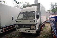 北京旗铃 103马力 4.2米单排厢式轻卡(窄体) 卡车图片
