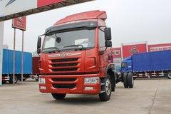 青岛解放 陆V中卡 220马力 4X2 7.65米厢式载货车底盘(CA5160XXYPK2L5E5A80-3) 卡车图片