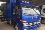 江淮 骏铃V7 154马力 5.53米单排厢式轻卡(HFC5091XXYP91K1D1V)图片