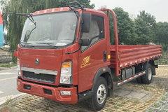 中国重汽HOWO 悍将 87马力 4.2米单排栏板轻卡(ZZ1047C3414D145) 卡车图片