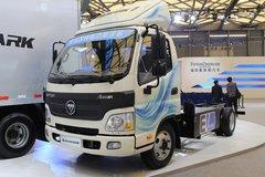 福田 欧马可1系 82马力 4.165米单排厢式纯电动轻卡底盘(BJ1041EVJA) 卡车图片