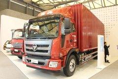 福田 瑞沃中卡 168马力 4X2 7.6米厢式载货车(BJ5156XXY-1)