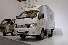 福田 时代K1 95马力 3.34米纯电动厢式轻卡(BJ5036XXYEV2) 卡车图片