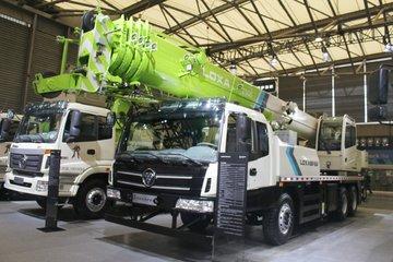北京福田皮卡_【雷萨报价】福田雷萨 25吨吊车(FTC25Q5)报价及图片参数_卡车之家