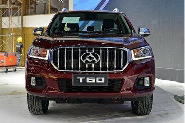 上汽大通 T60 精英型 2.8T柴油 150马力 两驱高底盘 大双排皮卡(6AT)