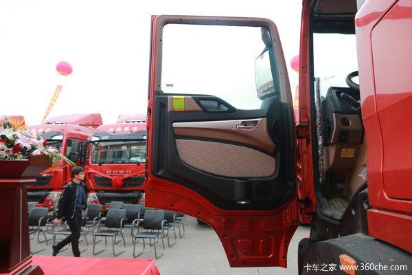 中国重汽 HOWO T5G重卡 340马力 4X2牵引车(ZZ4187N361GE1)