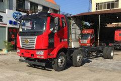 一汽柳特 金陆中卡 220马力 6X2 9.6米厢式载货车底盘(LZT5250XXYPK2E5L8T3A95) 卡车图片