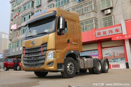 东风柳汽 乘龙H7重卡 520马力 6X4牵引车(LZ4253H7DB)