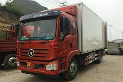大运 风驰中卡 160马力 4X2 7.7米排半厢式载货车(CGC5161XXYD48AC) 卡车图片