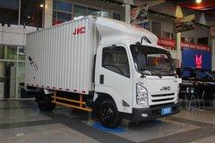 江铃 凯运升级版 宽体 109马力 4.1米单排厢式轻卡(气刹)(JX5042XXYXG2) 卡车图片