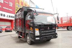 中国重汽HOWO 统帅 141马力 4.2米单排厢式载货车(ZZ5047XXYF341CE145)
