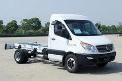 江淮 星锐6系 152马力 3570轴距单排轻卡底盘(HFC1049K1HV) 卡车图片