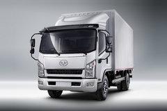 一汽红塔 解放新金铃 120马力 3.8米排半厢式轻卡(CA5040XXYK35L3R5E4) 卡车图片