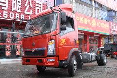 中国重汽HOWO 悍将 95马力 4.15米单排厢式轻卡底盘(ZZ5047XXYF3315E145) 卡车图片