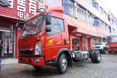 中国重汽HOWO 悍将 95马力 4.15米单排厢式轻卡底盘(ZZ5047XXYF3315E145)图片
