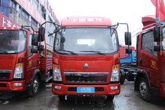 中国重汽HOWO 悍将 129马力 3.8米排半厢式轻卡底盘(ZZ5047XXYF3315E145) 卡车图片