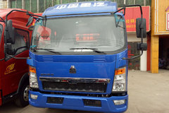 中国重汽HOWO 悍将 129马力 4.15米单排仓栅式轻卡底盘(ZZ5047CCYF3315E145) 卡车图片