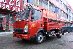 中国重汽HOWO 悍将 95马力 4.2米单排栏板轻卡(ZZ1047F3315E145) 卡车图片