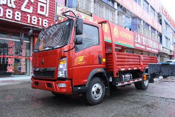 中国重汽HOWO 悍将 95马力 4.165米单排栏板轻卡(ZZ1047F3315E145)