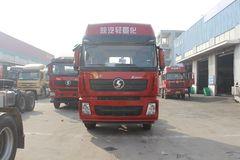 陕汽重卡 德龙X3000 350马力 8X2 9.5米仓栅式载货车(SX5320CCY4C45B)图片