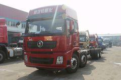 陕汽重卡 德龙X3000 350马力 8X2载货车底盘(SX1320XCB) 卡车图片
