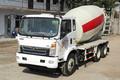 中国重汽 豪曼H3 140马力 4X2 3.57方混凝土搅拌车(ZZ5168GJBF17EB0)图片