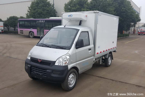 回馈客户聚力五菱荣光冷藏车仅售7.68万