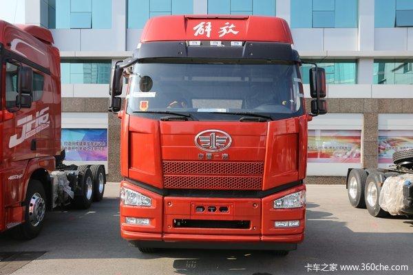 一汽解放 J6P重卡 460马力 6X2牵引车