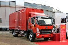 中国重汽HOWO G5X中卡 210马力 6.75米排半厢式载货车(ZZ5167XXYH521DE1) 卡车图片