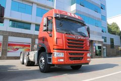 青岛解放 悍V准重卡 375马力 6X4牵引车(CA4256P1K2T1E5A80) 卡车图片