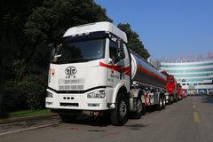 一汽解放 J6M重卡 280马力 8X4运油车(陆平机器牌)(LPC5320GYYC5)