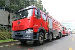 一汽解放 J6P重卡 420马力 8X4水罐消防车(中卓时代牌)(ZXF5400GXFSG210/Y) 卡车图片