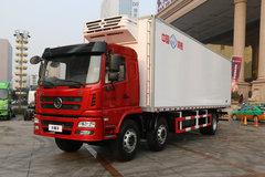 陕汽商用车 轩德X6 245马力 6X2 8.63米冷藏车(冰熊牌)(BXL5259XLC)