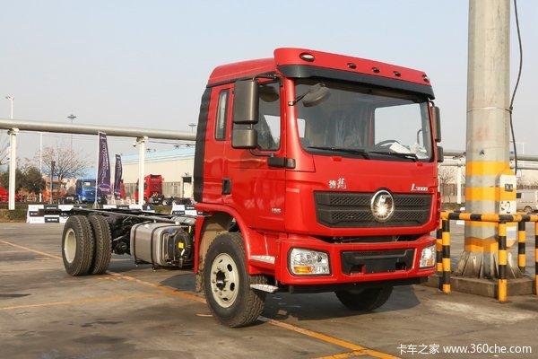 陕汽重卡 德龙L3000 185马力 4X2 6.75米载货车底盘
