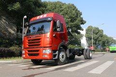 青岛解放 龙V中卡 180马力 4X2 6.7米栏板载货车底盘(升级版)(CA1189PK2L2E5A80) 卡车图片