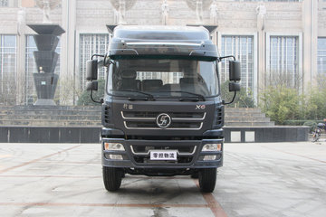 陕汽商用车 轩德X6中卡 轻量化版 180马力 4X2 7.65米厢式载货车(SX5168XXYGP5)