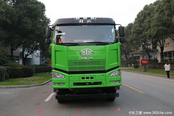 一汽解放 J6P重卡 420马力 8X4 8米自卸车