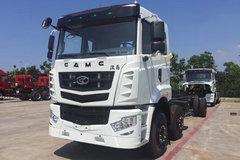 华菱 汉马重卡 245马力 6X2 9.6米栏板载货车底盘(HN1250HC24E8M5) 卡车图片