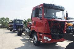 华菱 汉马 160马力 4X2 6.8米仓栅式载货车底盘(HN5160CCYH19E6M5) 卡车图片