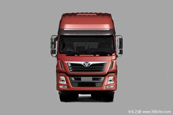 中国重汽 豪曼H5重卡 340马力 8X4 9.6米厢式载货车