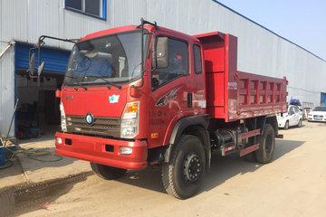 重汽王牌 7系 129马力 3.8米自卸车(6挡变速箱)(CDW3040A2Q5)