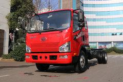 解放 J6F 150马力 4.85米排半栏板轻卡底盘(CA1086P40K2L3E5A84) 卡车图片